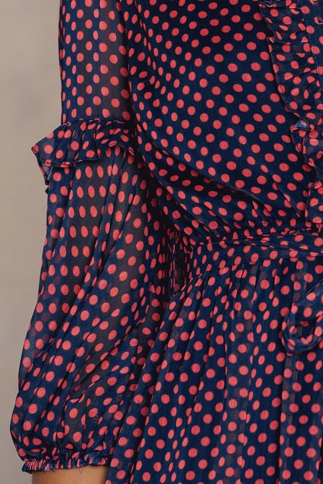 Kirmizi Shirt Dress Red