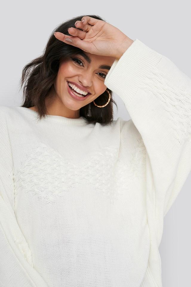 Knitwear Sweater Ecru