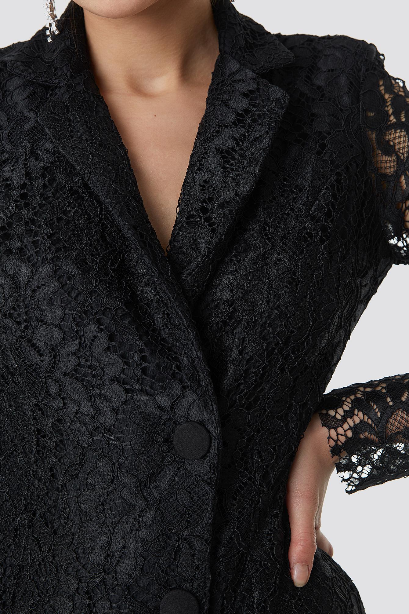 Lace Jacket Dress NA-KD.COM