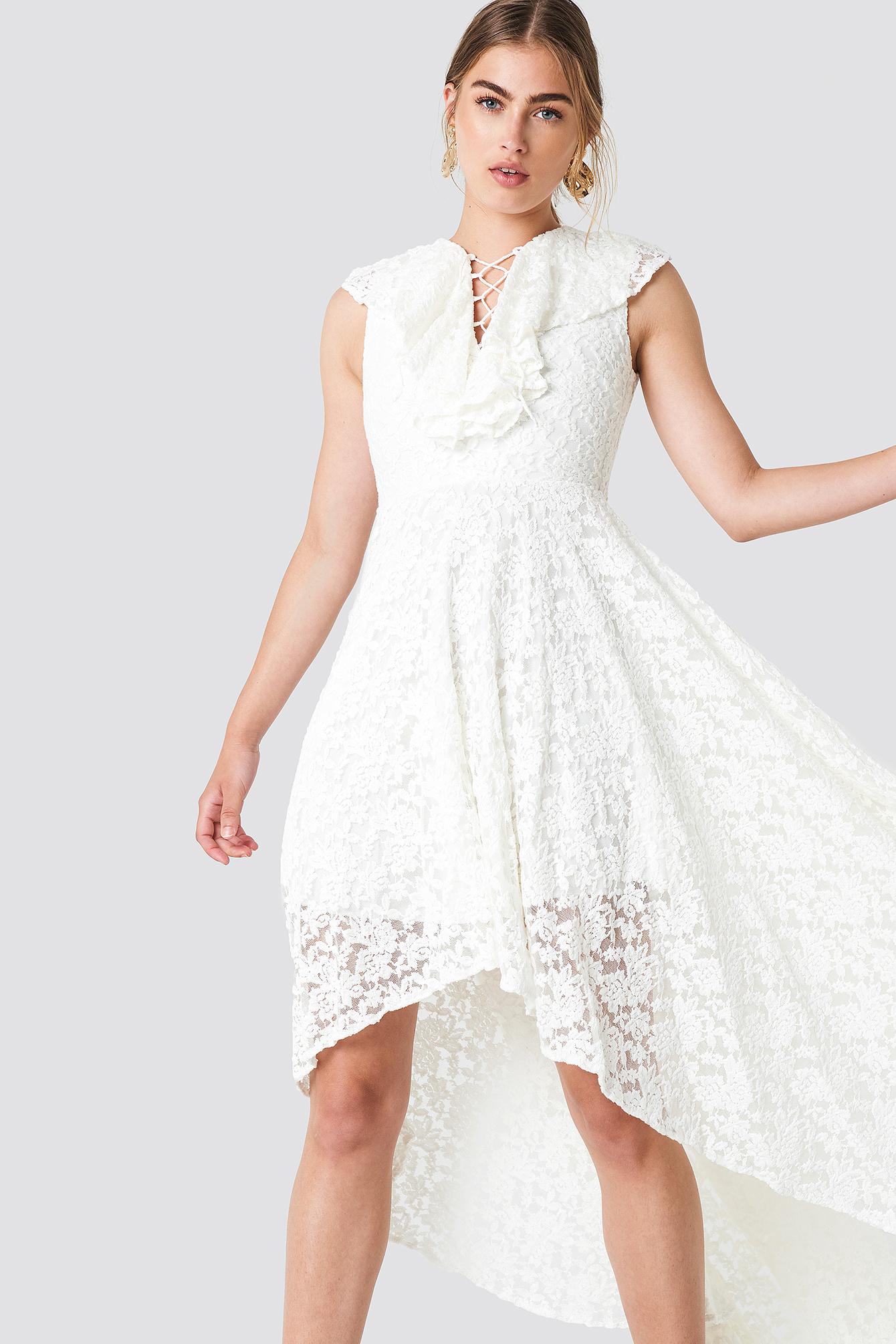 Lace Maxi Dress NA-KD.COM
