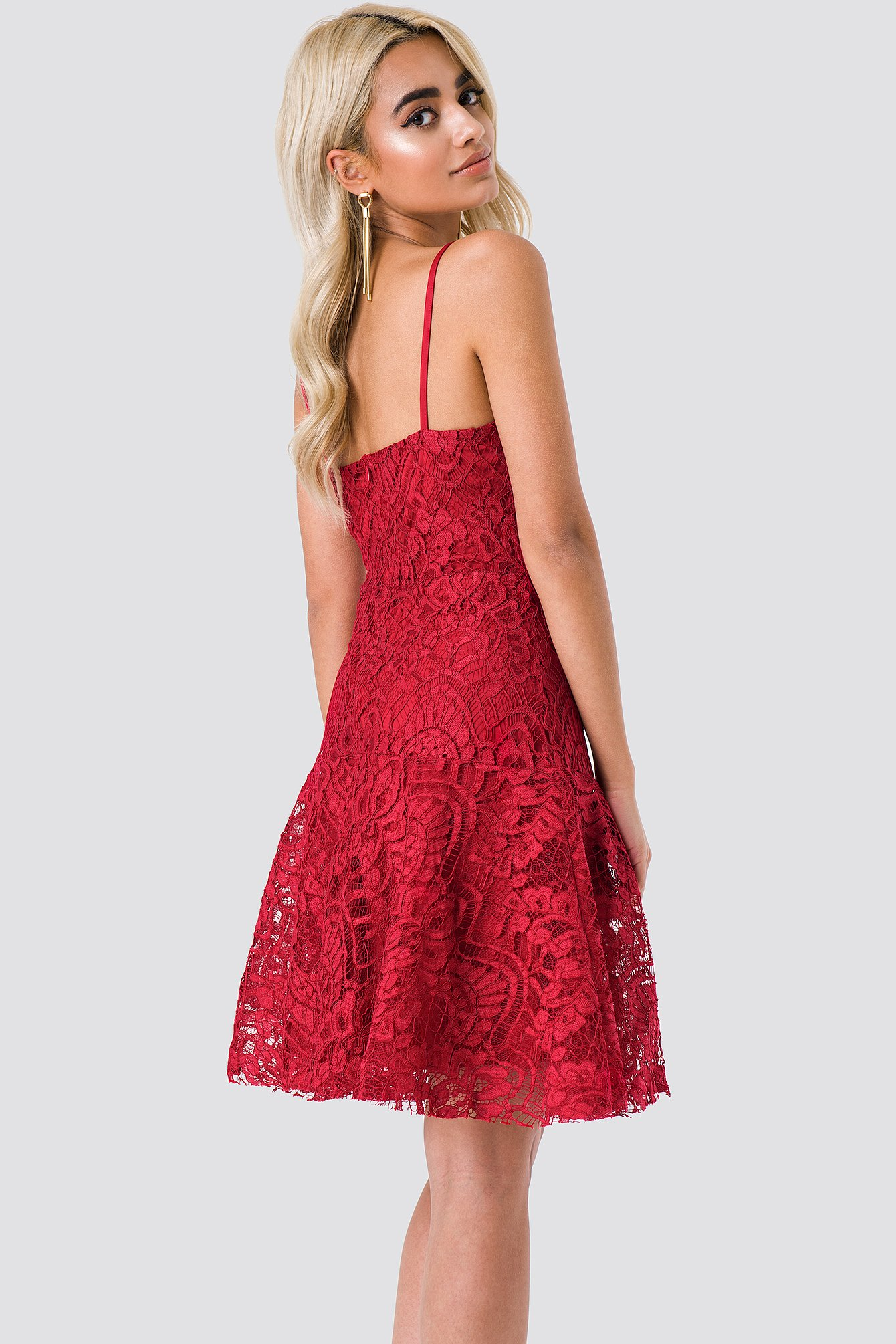 Lace Mini Dress NA-KD.COM