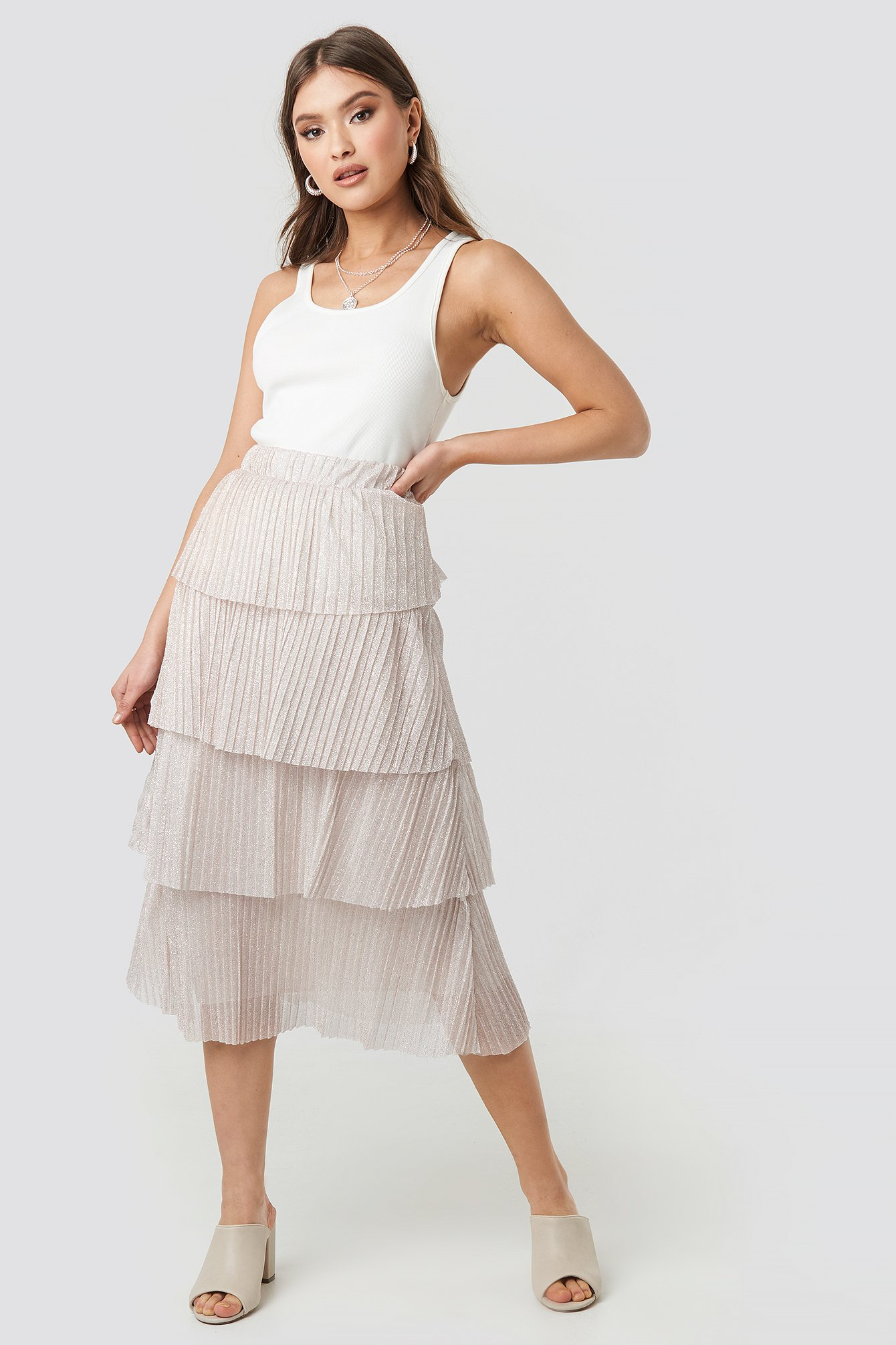 Layer Frill Skirt NA-KD.COM