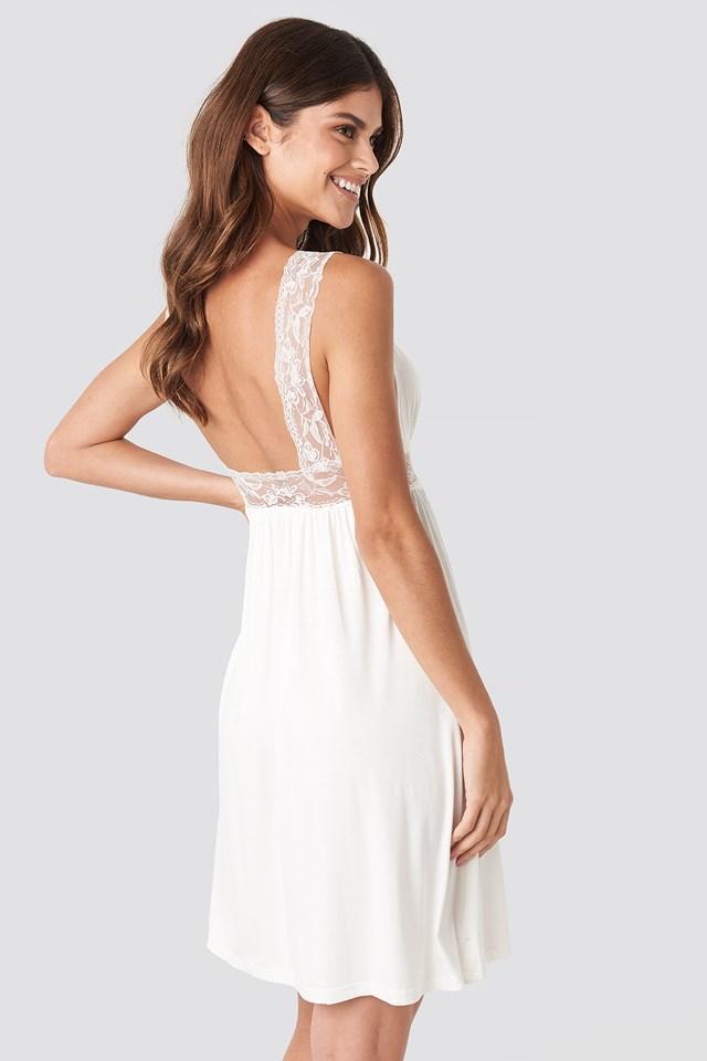 Lazy Night Mini Dress White