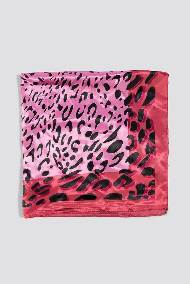 Leo Pattenerd Scarf Pink