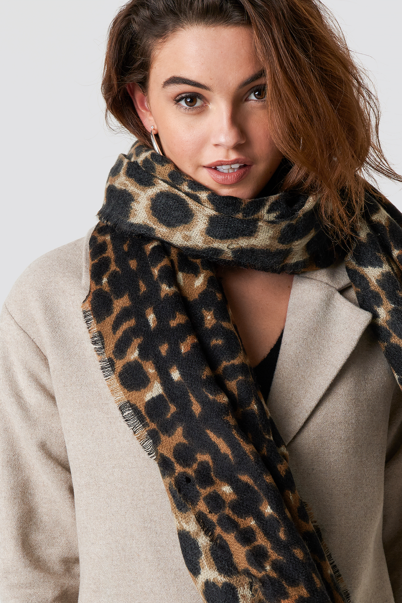 Leo Patterned Scarf NA-KD.COM