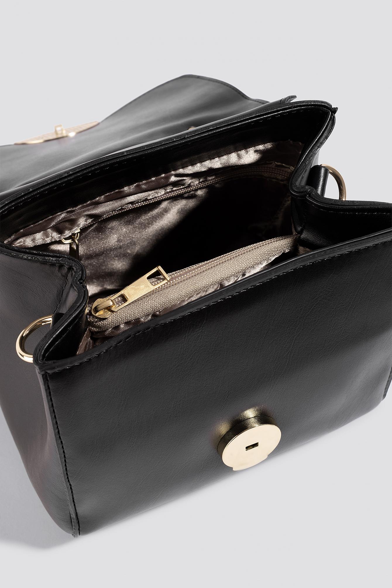 Leo Printed Gold Buckle Bag NA-KD.COM