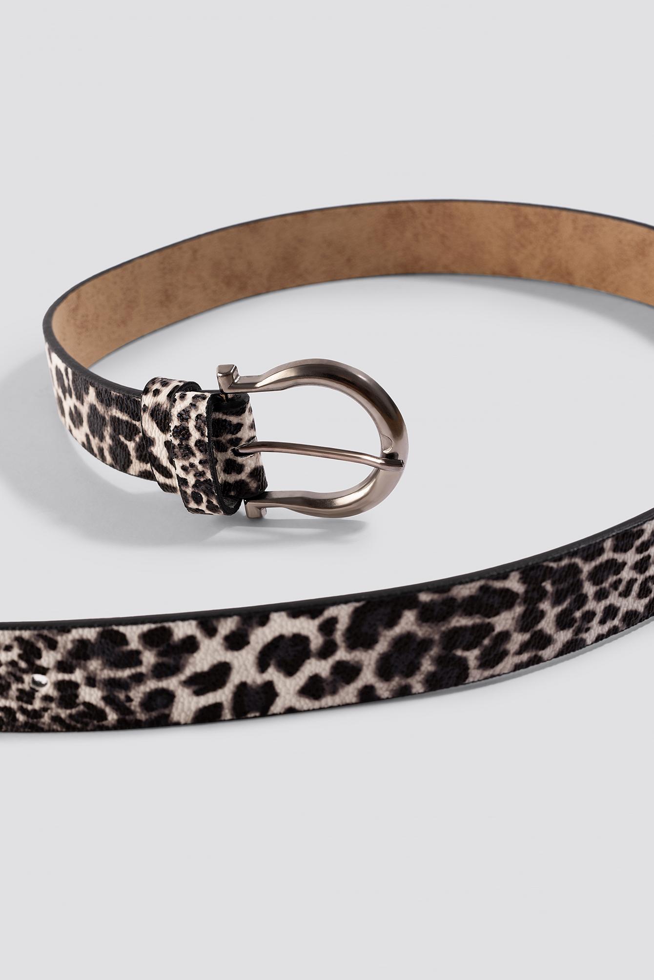 Leopard Pattern Basen Belt NA-KD.COM