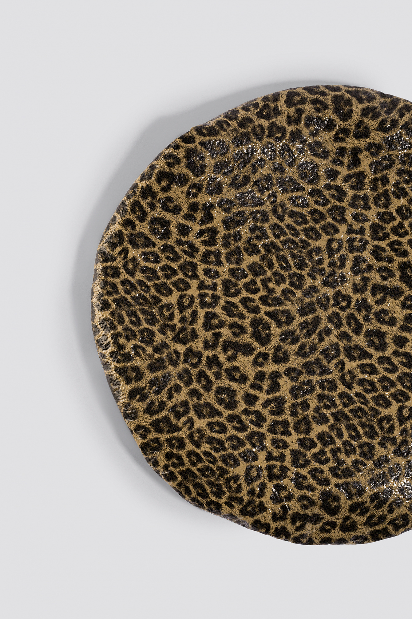 Leopard Pattern Beret NA-KD.COM
