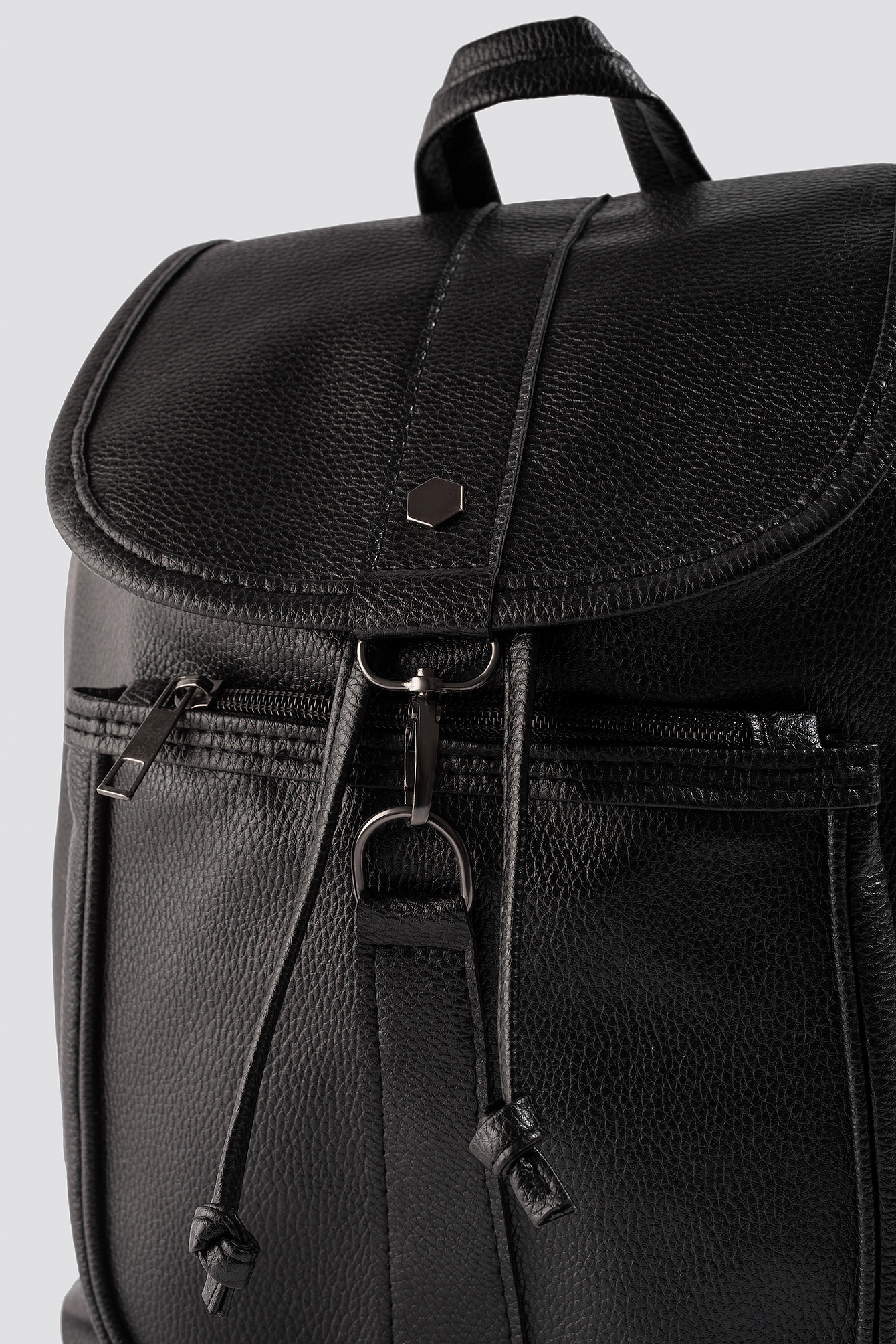 Lock Detailed Backpack NA-KD.COM