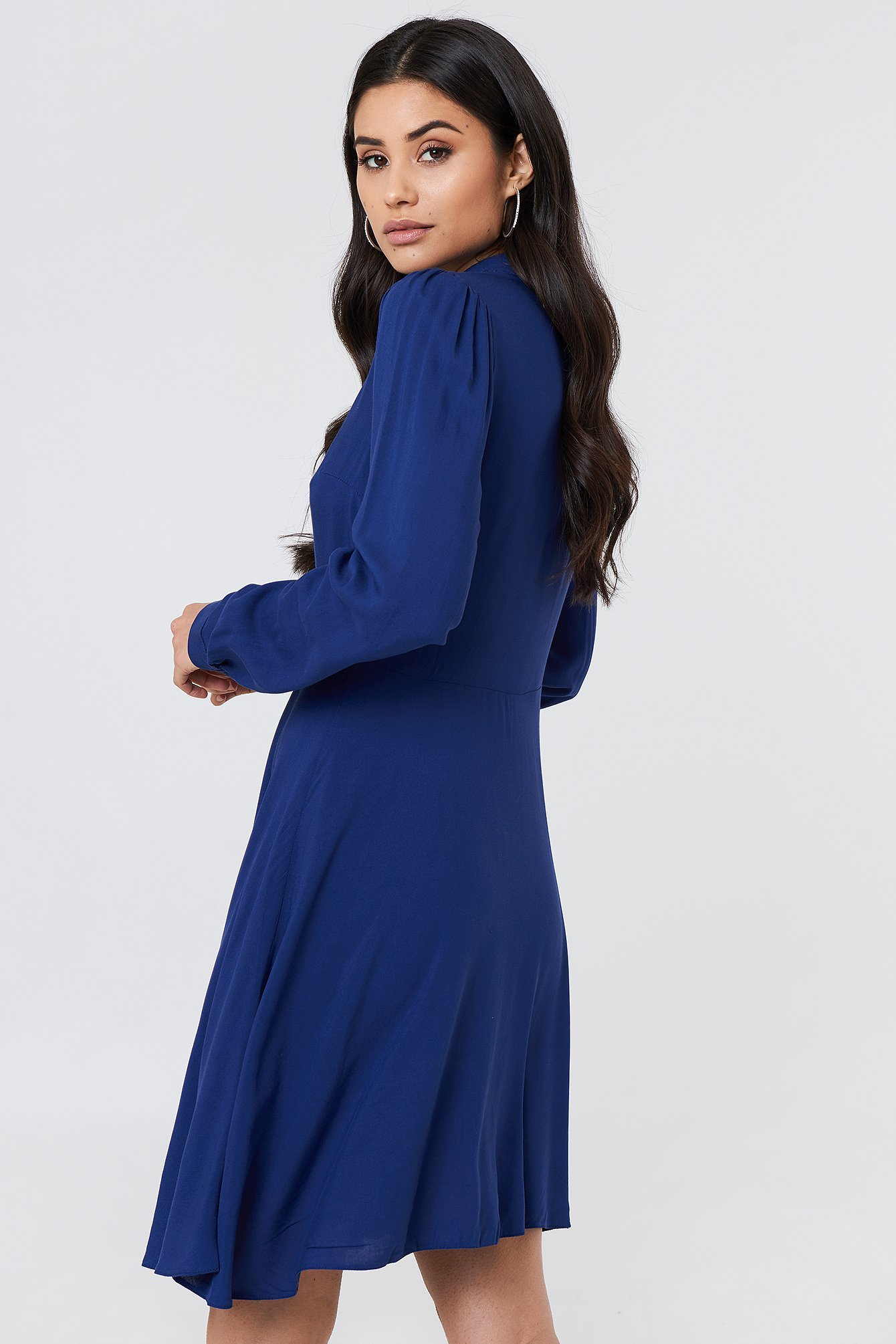 Long Sleeve Midi Dress NA-KD.COM