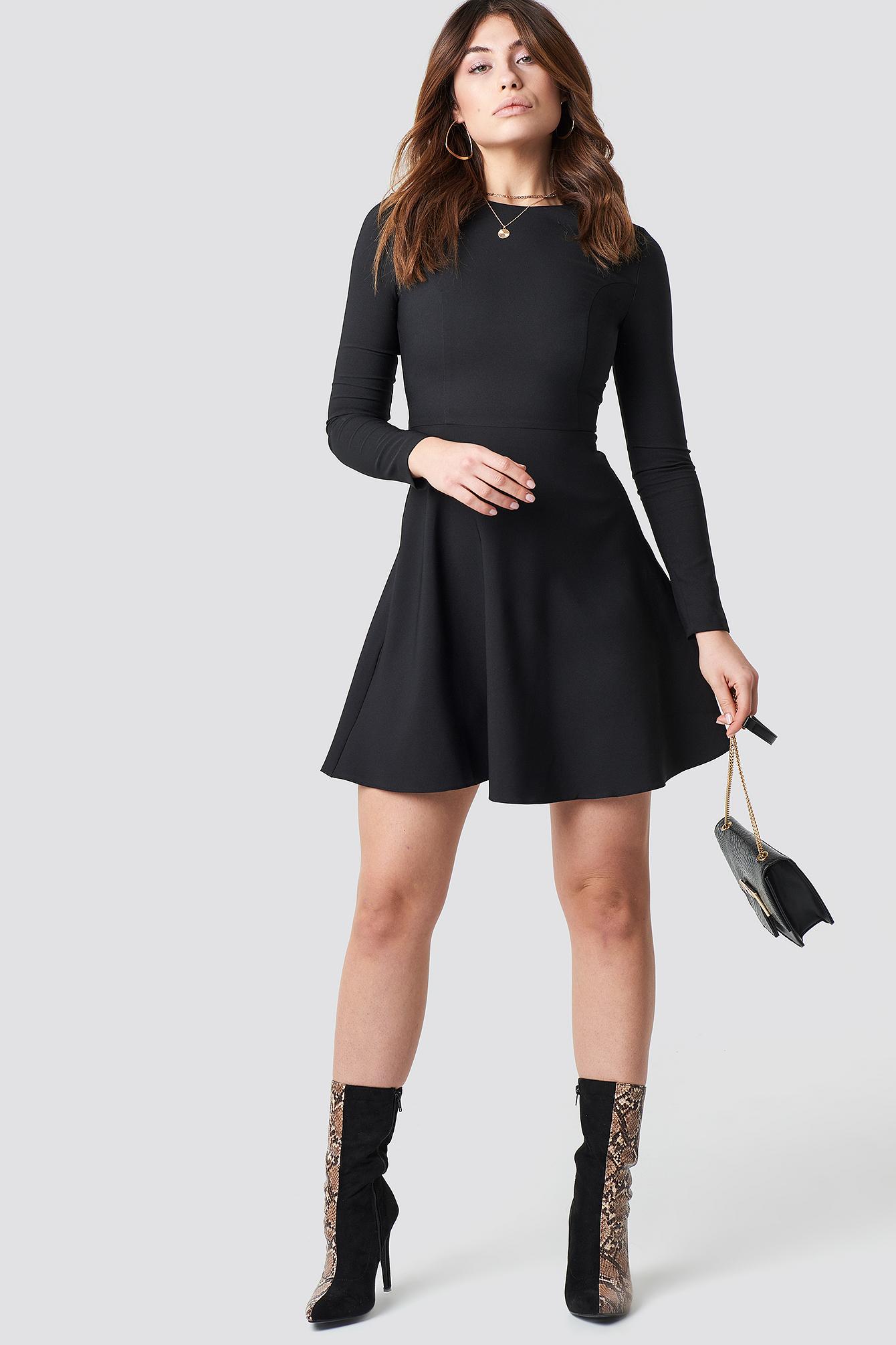 Long Sleeve Mini Dress NA-KD.COM