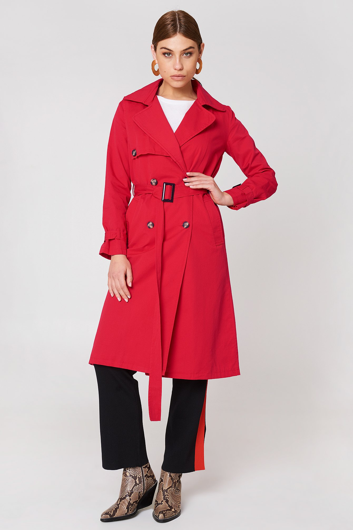 Long Trenchcoat NA-KD.COM