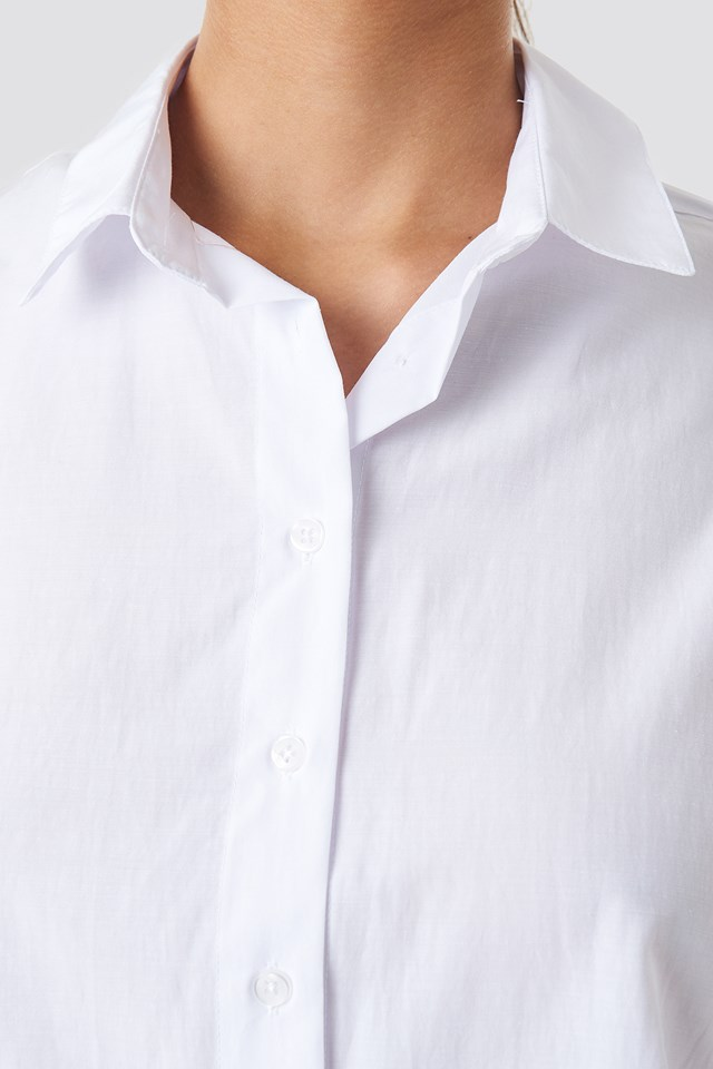 Loose Fit Shirt White