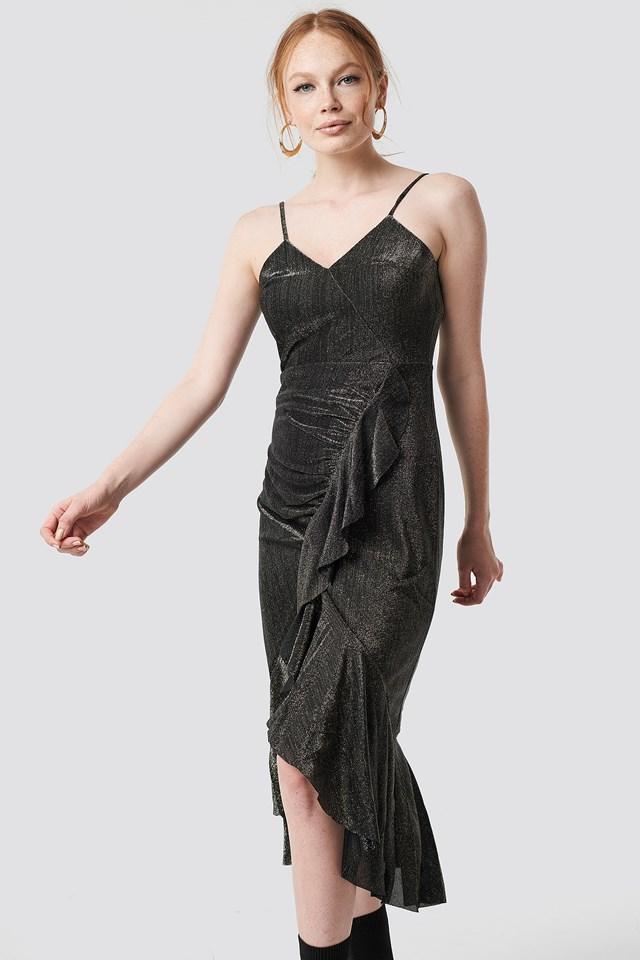 Luminous Midi Dress NA-KD.COM