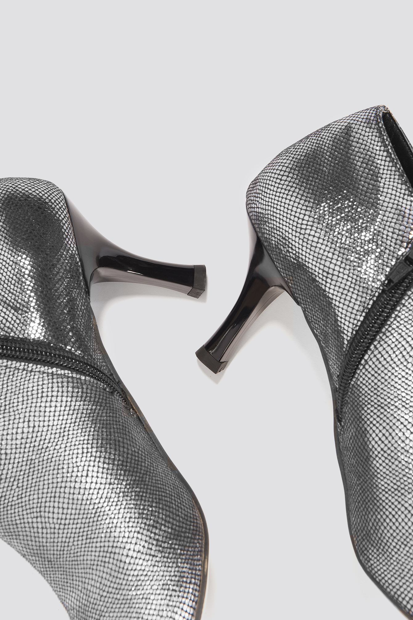 Metallic Ankle Boot NA-KD.COM