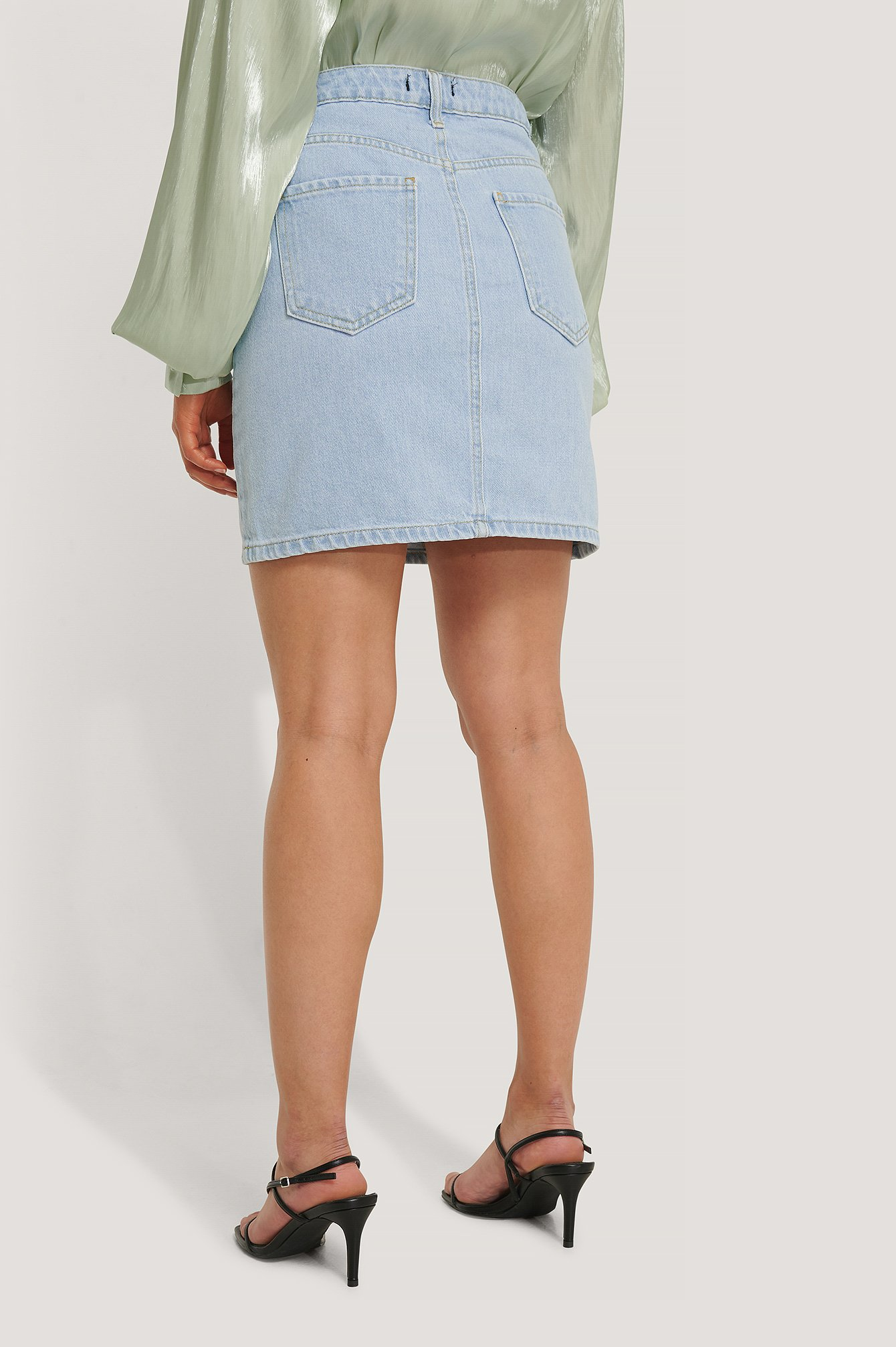 Indigo Milla Basic Denim Skirt