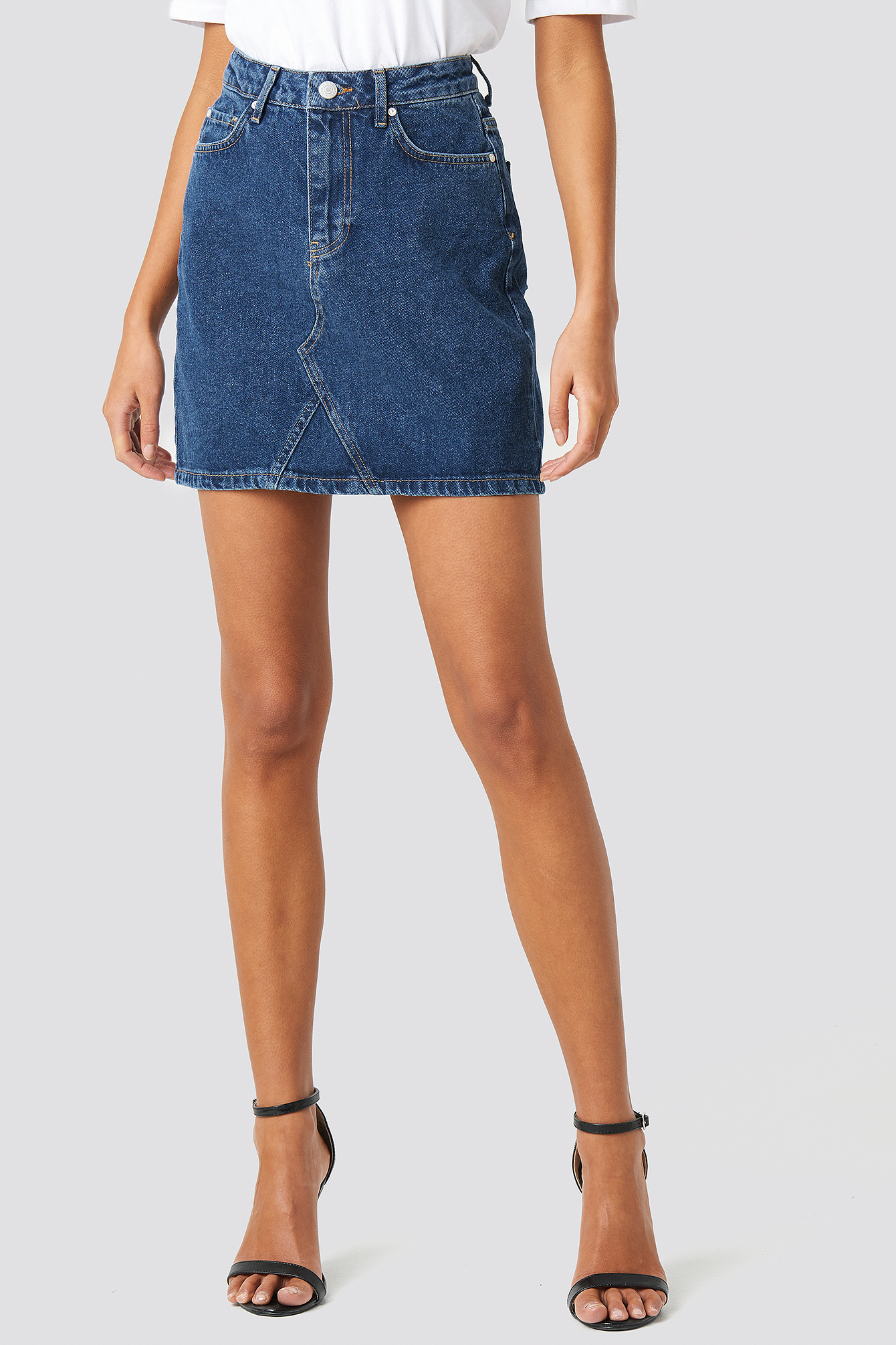 Milla Basic Denim Skirt NA-KD.COM