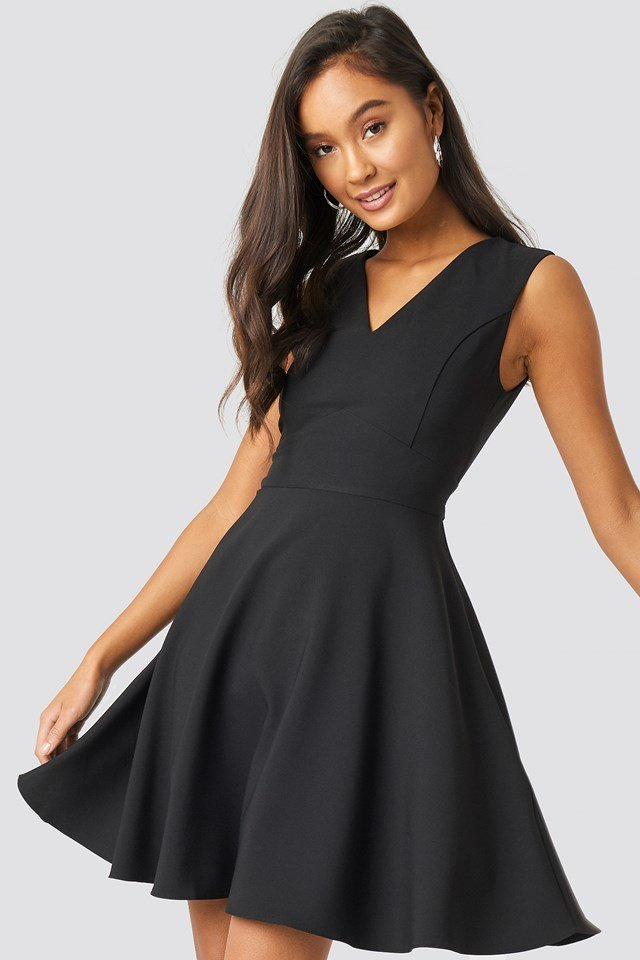 Milla Basic Mini Dress Black