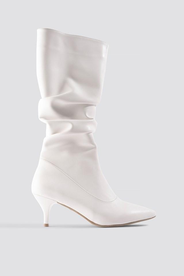 Milla Boots White