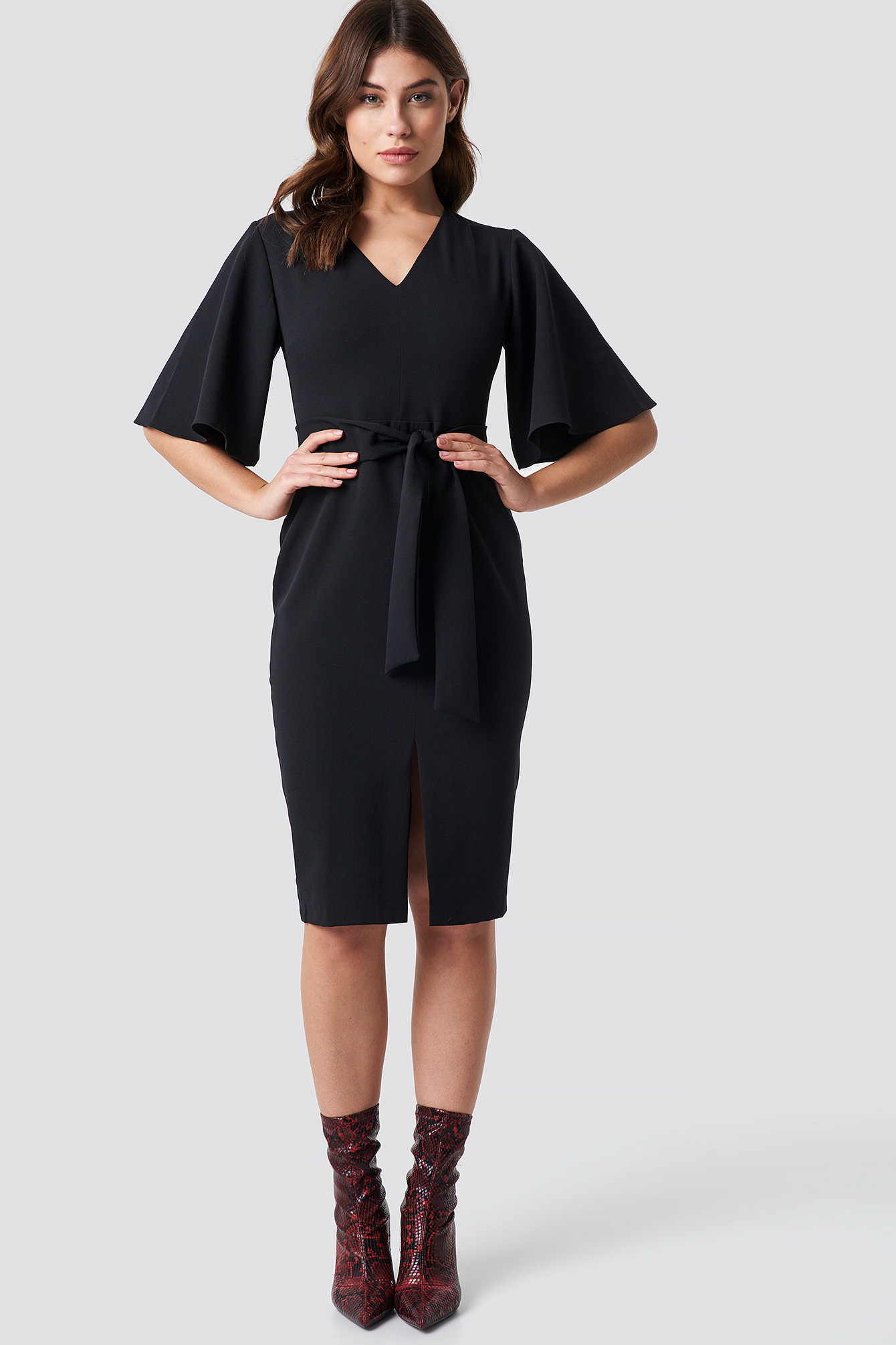 Milla Classic Midi Dress NA-KD.COM