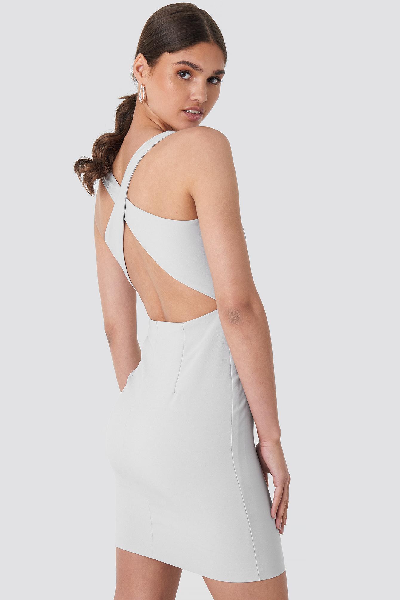 Milla Halter Mini Dress NA-KD.COM