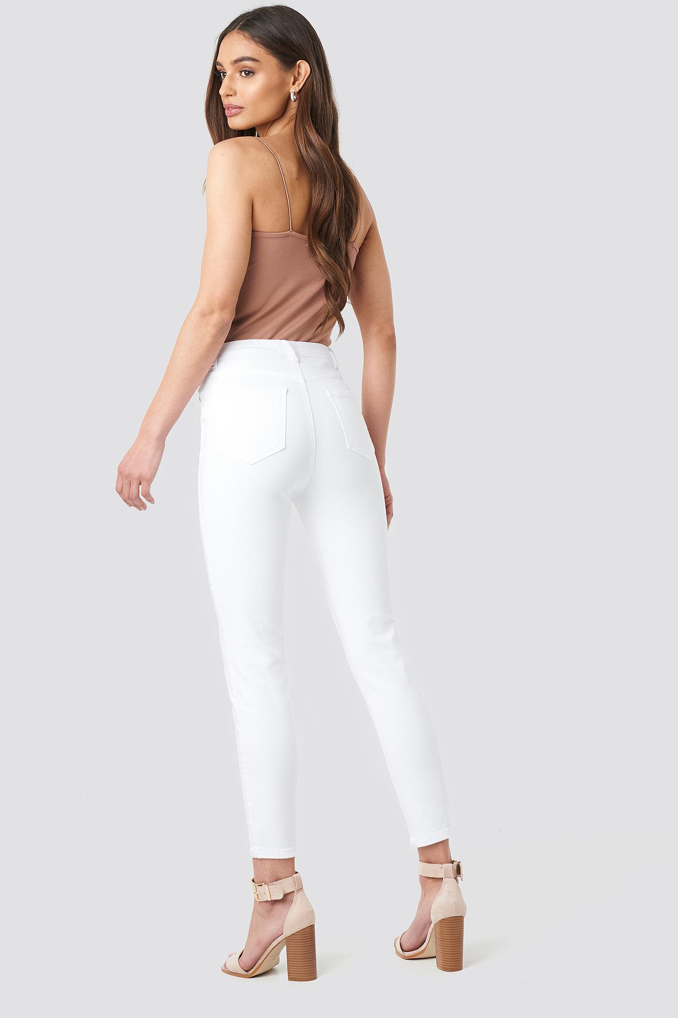 Milla High Waist Jeans NA-KD.COM