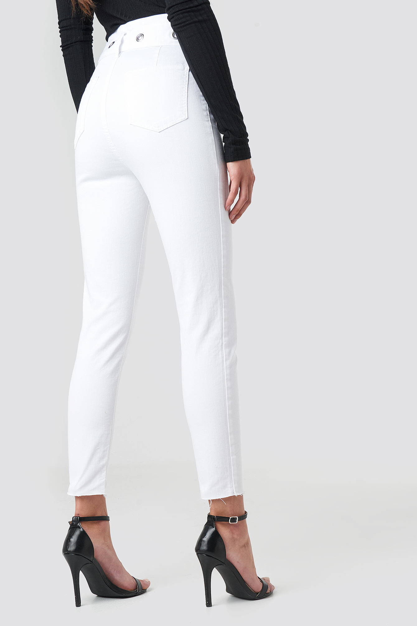 Milla High Waist Slim Fit Jeans NA-KD.COM