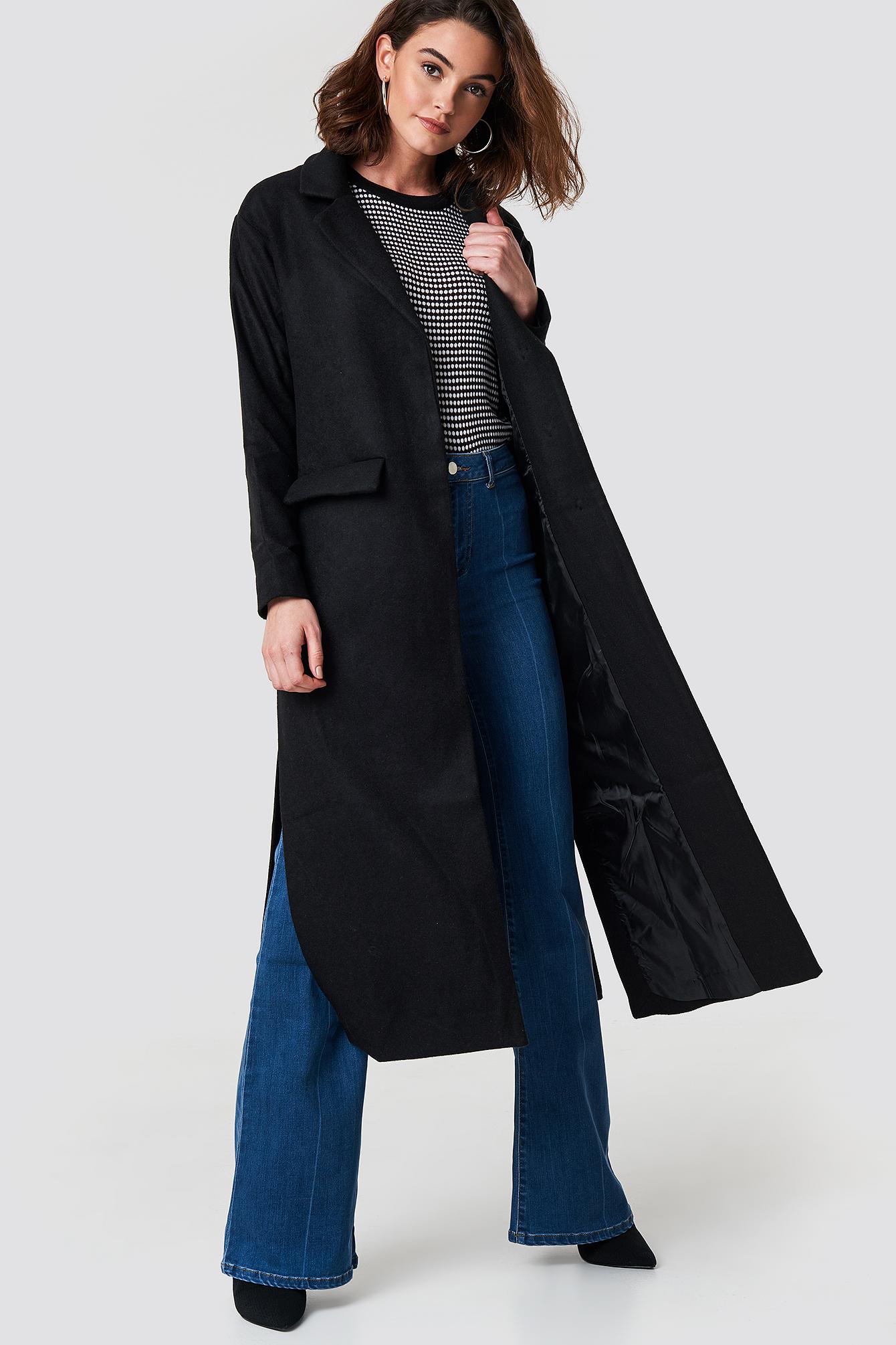 TRENDYOL Milla Long Coat - Black