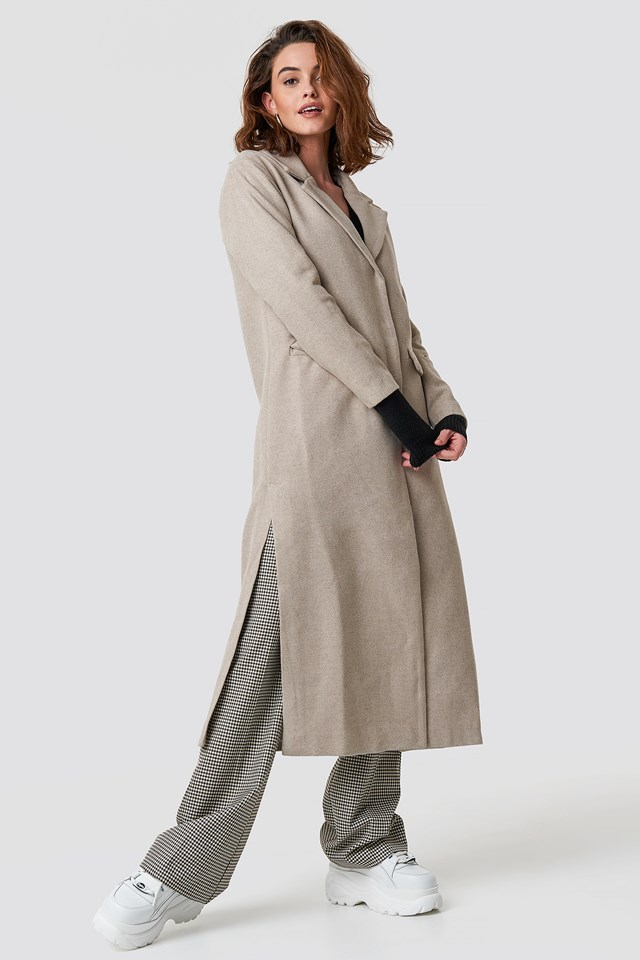 Milla Long Coat NA-KD.COM
