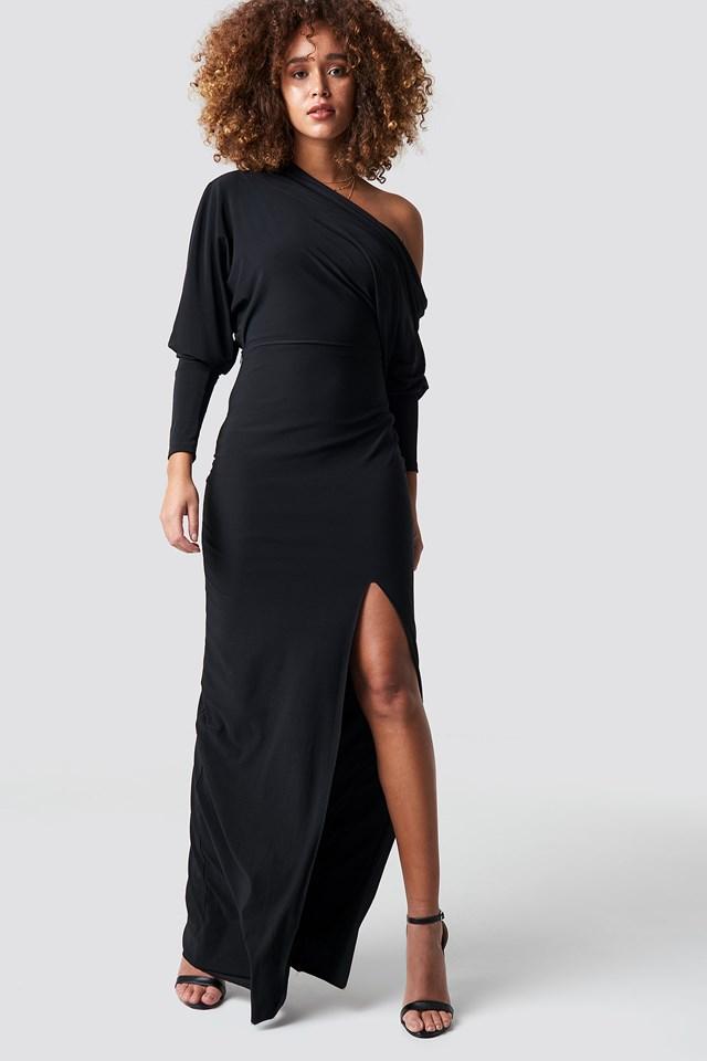 Milla Maxi Slit Dress NA-KD.COM