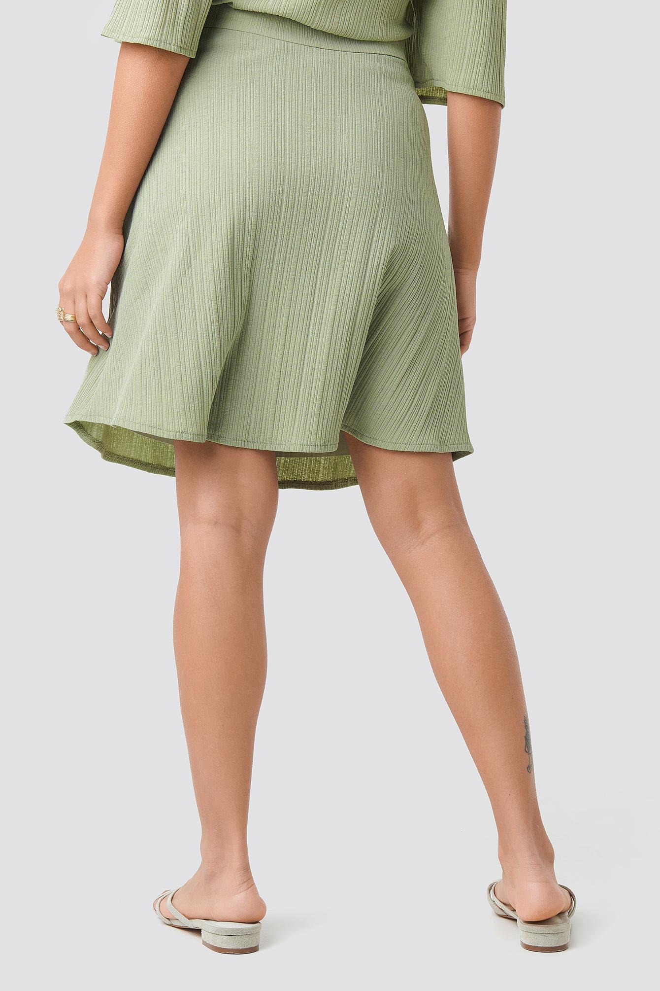Milla Midi Skirt NA-KD.COM