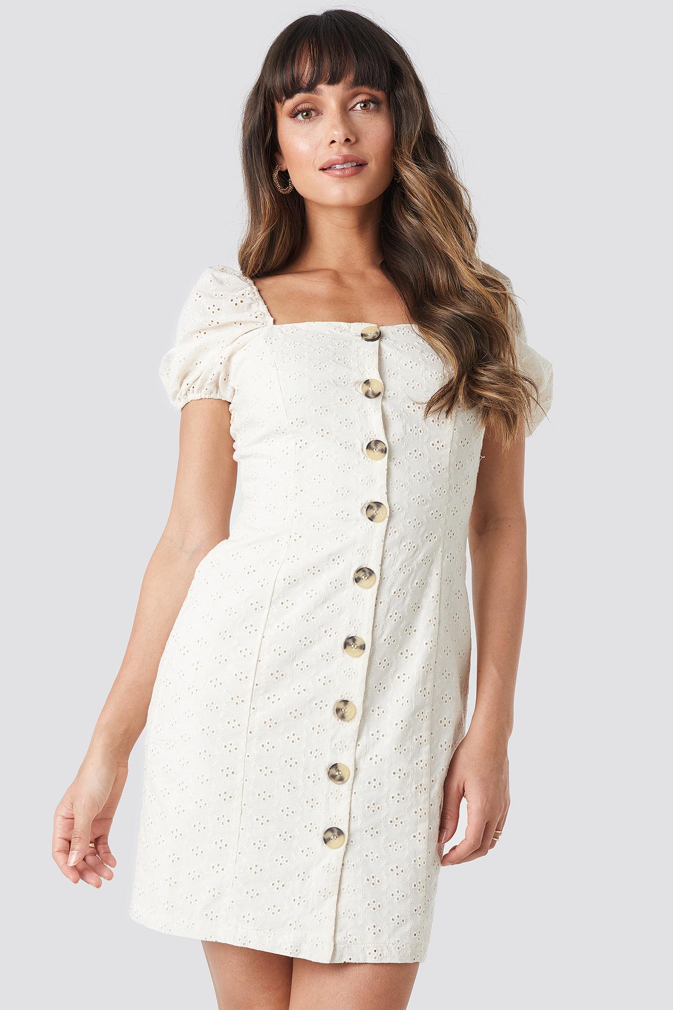 trendyol -  Milla Mini Dress - White