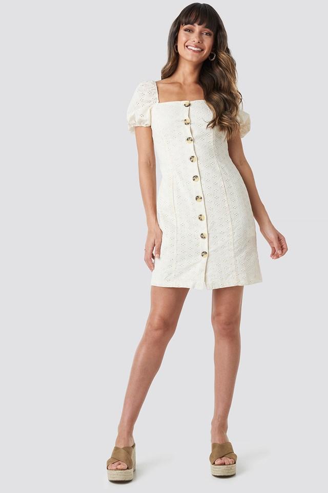 Milla Mini Dress Ecru