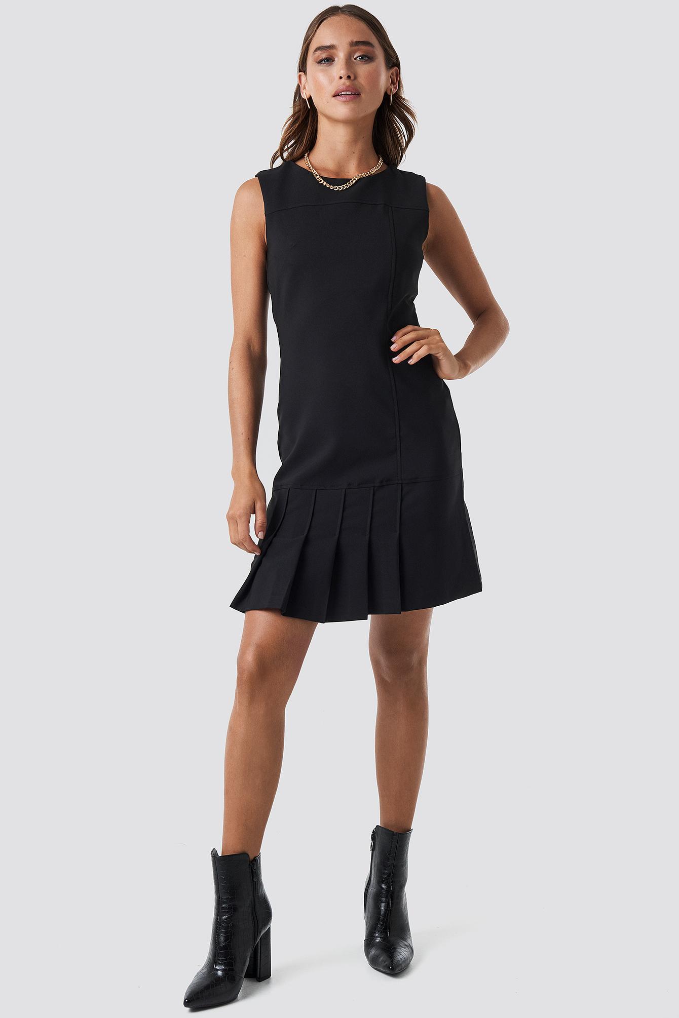 Milla Pleated Dress NA-KD.COM