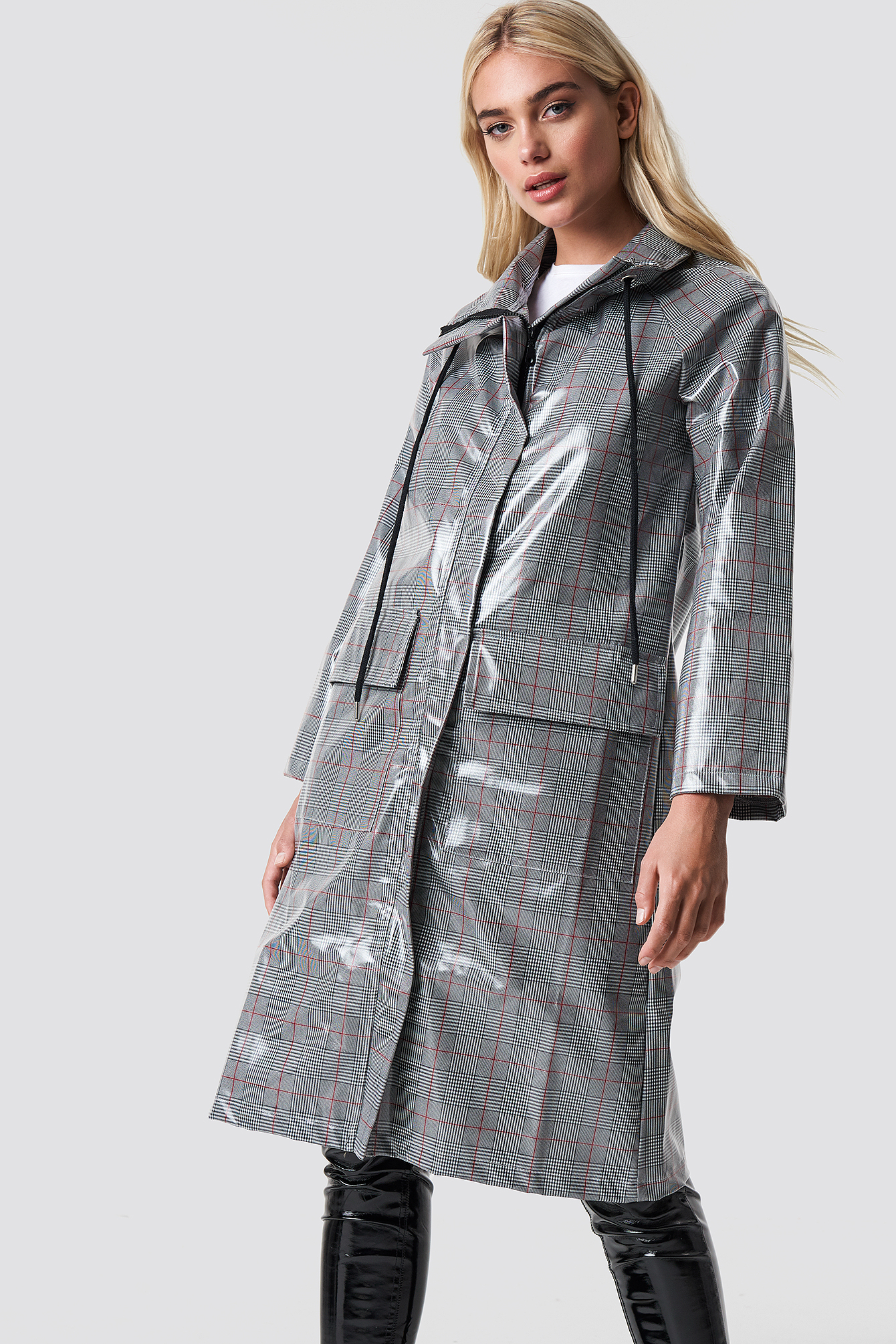 trendyol -  Milla Raincoat - Grey