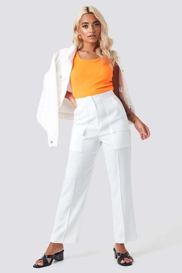 Milla Singlet Orange