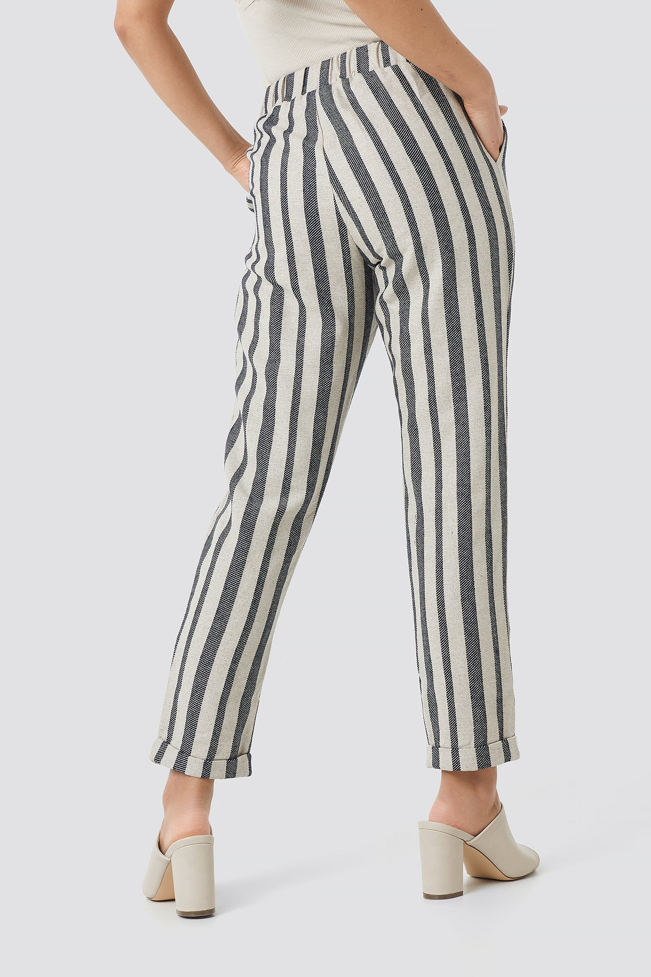 Milla Striped Pants NA-KD.COM