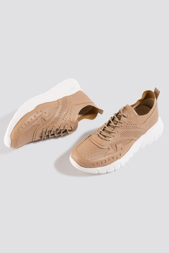 Milla Taks Sneakers Beige
