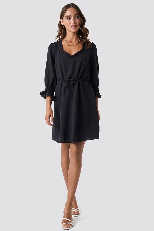 Milla U Dress Black