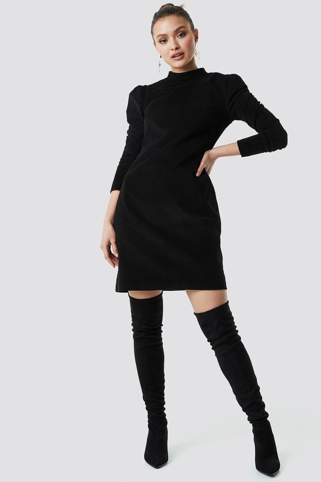 Milla Velvet Mini Dress NA-KD.COM