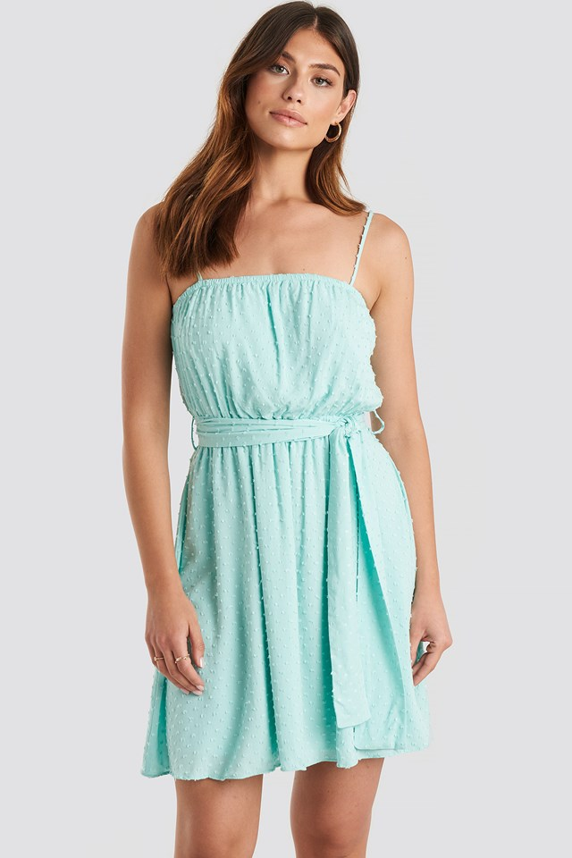 Mini Strap Mini Dress Mint