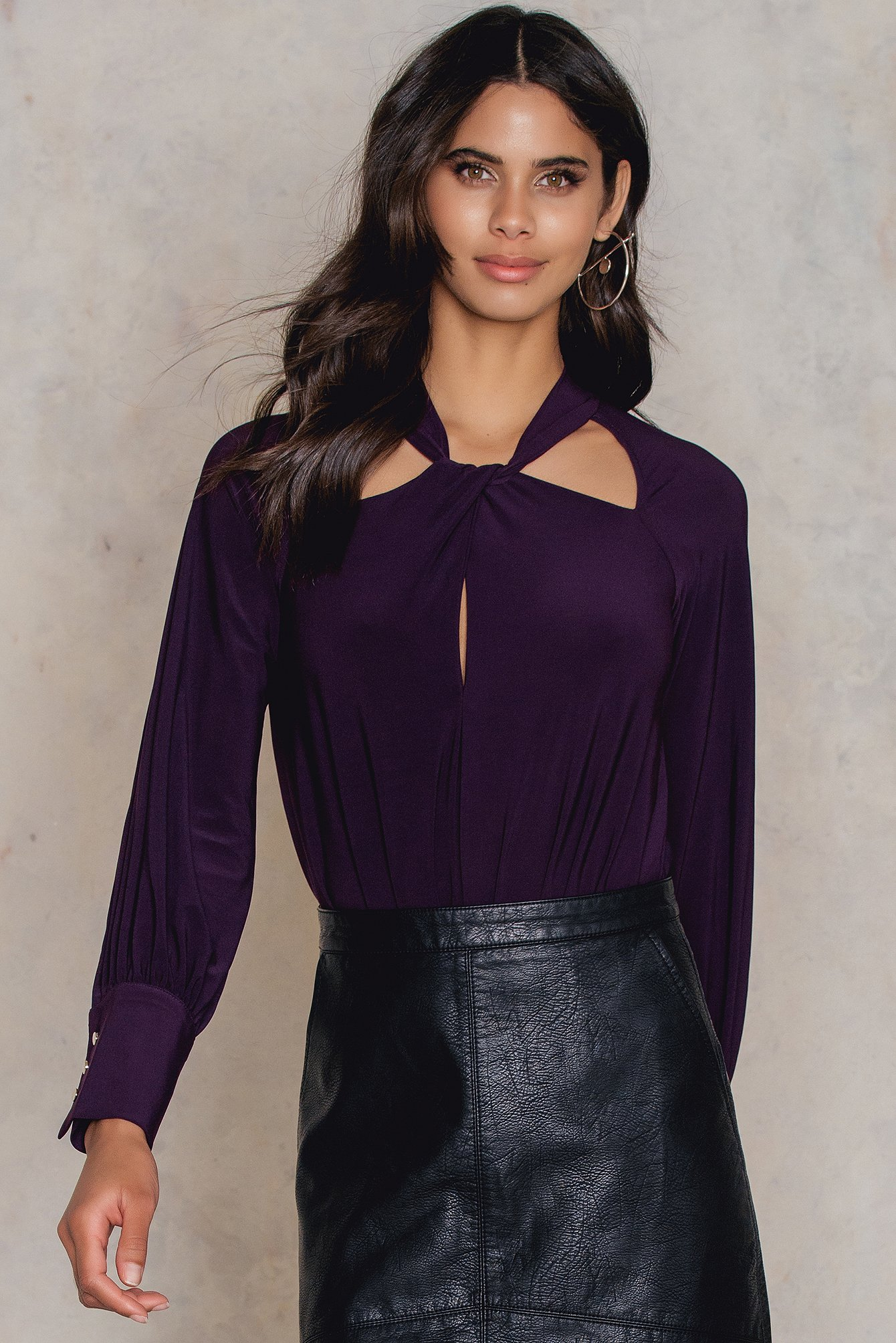 trendyol -  Mor Body - Purple