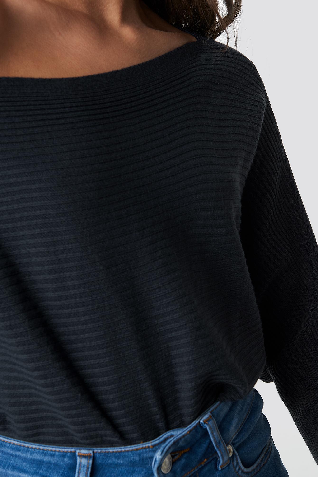 Sweter z odkrytymi ramionami NA-KD.COM