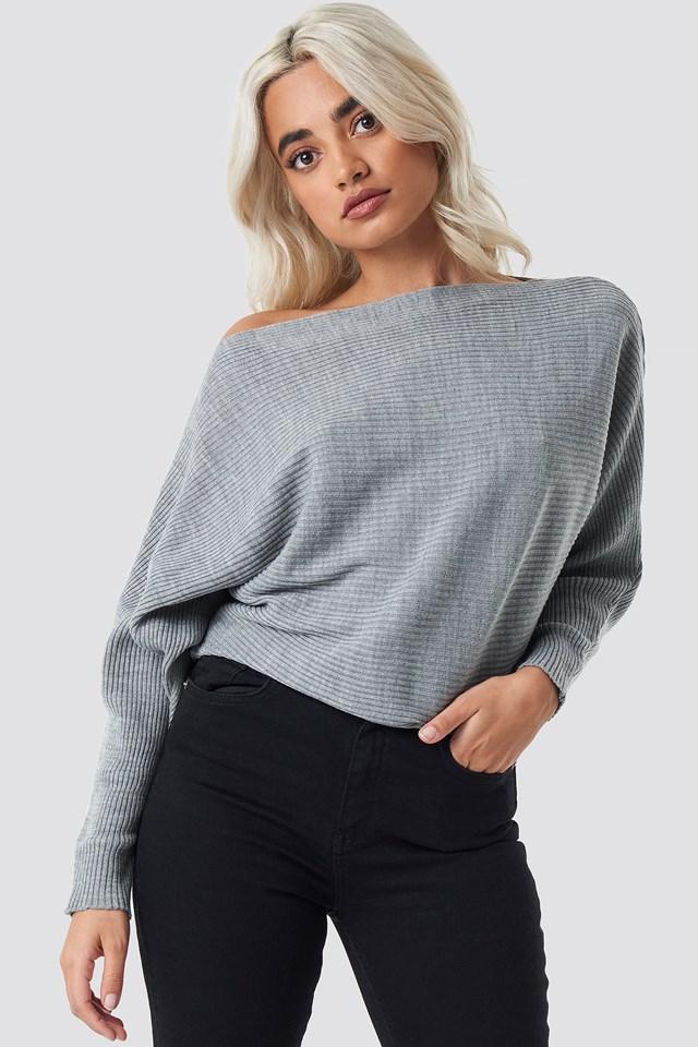Sweter z odkrytymi ramionami Trendyol