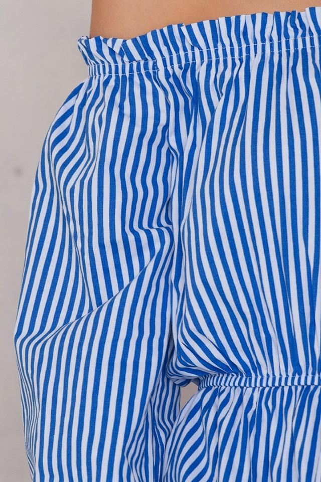 Off Shoulder Wide Sleeve Blouse NA-KD.COM