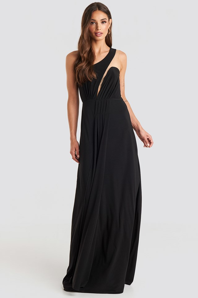 One Shoulder Evening Dress Trendyol