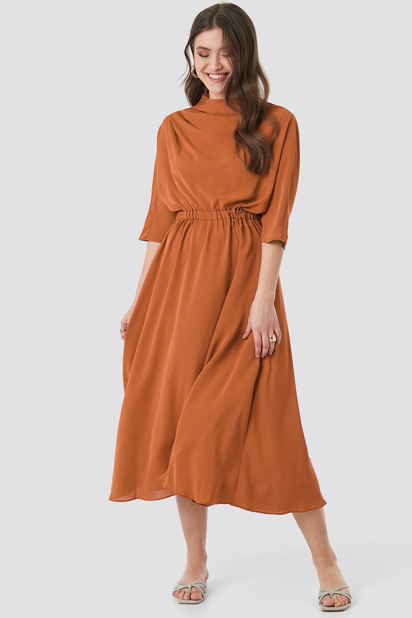 Open Back Detail Dress NA-KD.COM