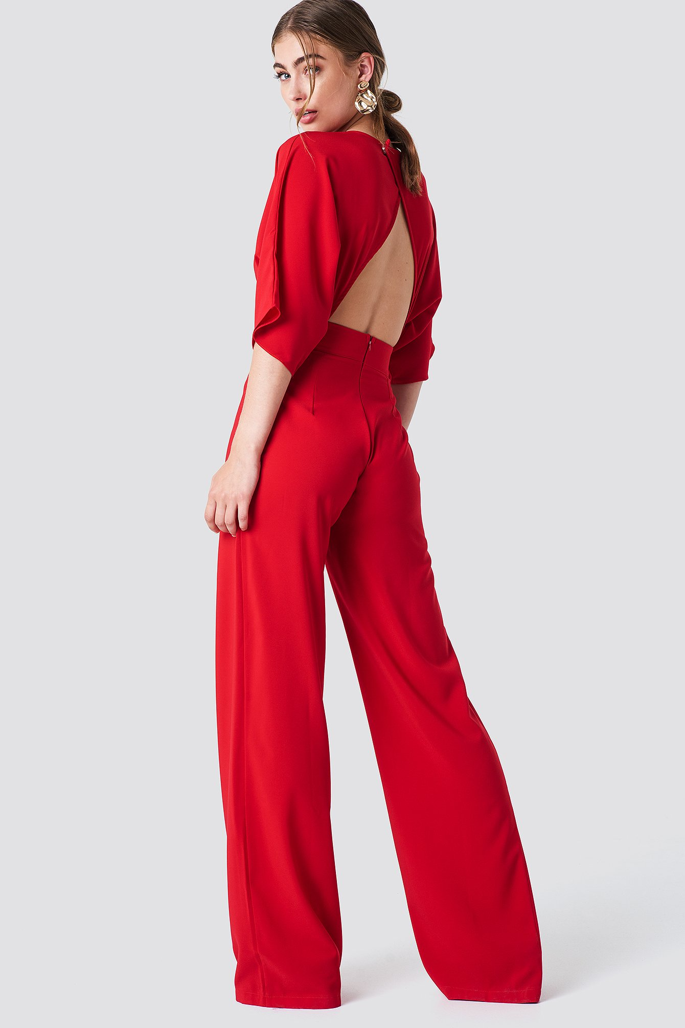 Open Back Jumpsuit NA-KD.COM