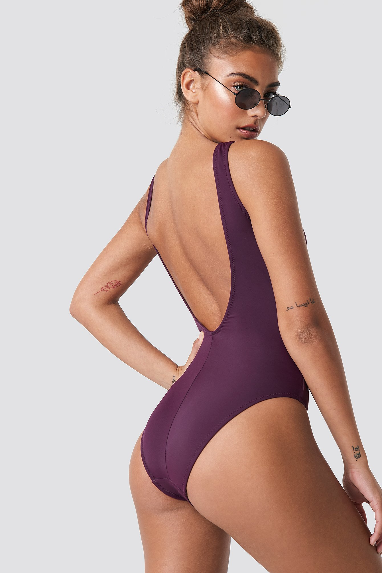 Open Chest Swimsuit NA-KD.COM