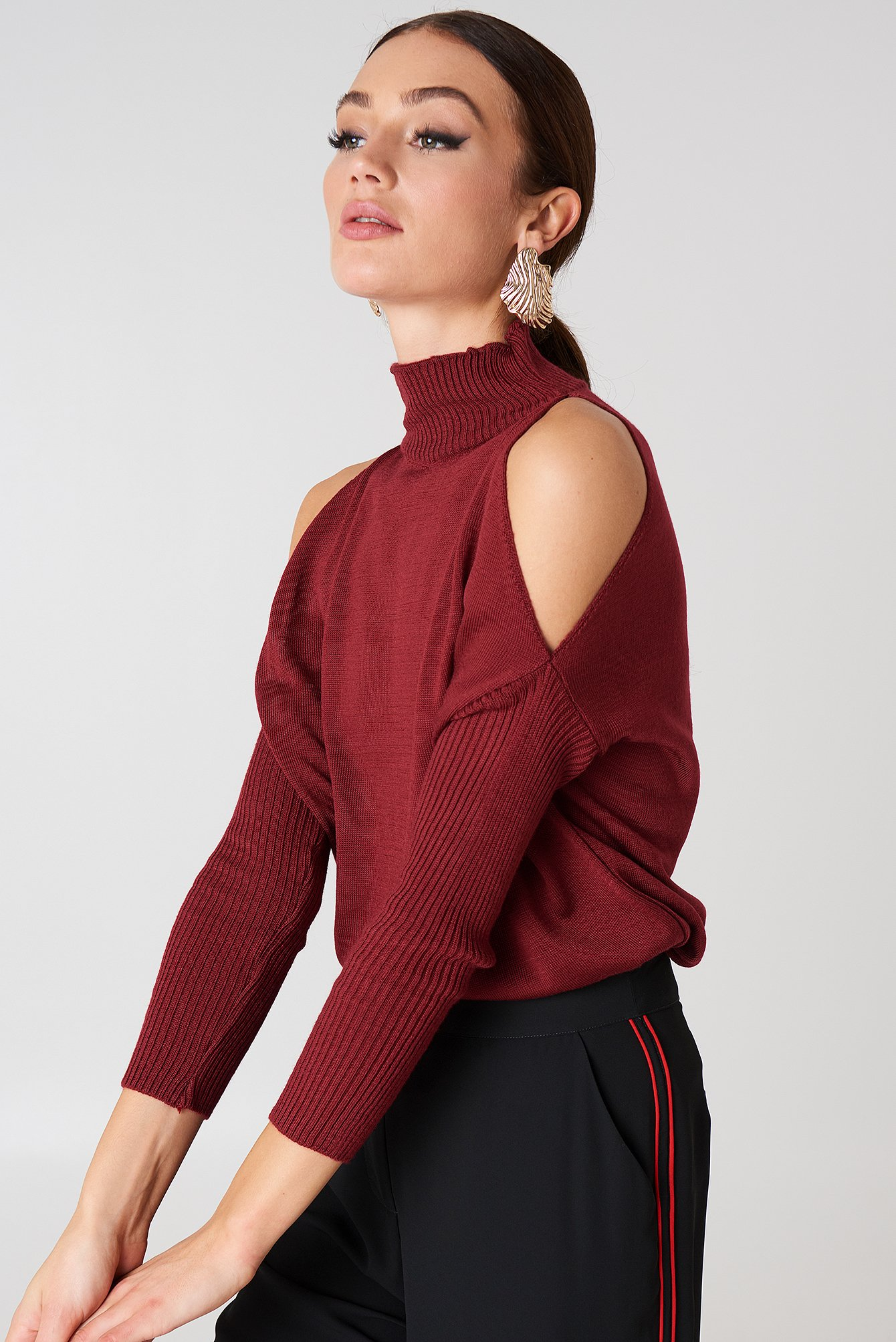 Open Shoulder Knit NA-KD.COM